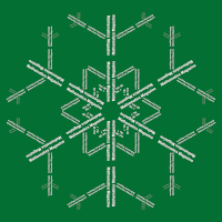 Snowflake Calligram (artwork)